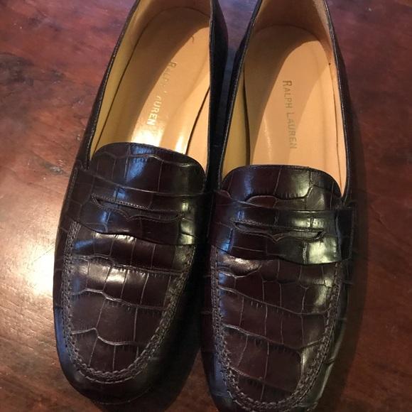 Ralph Lauren Alligator Leather Loafer